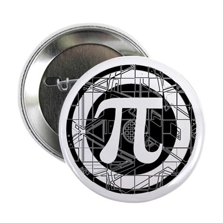 "Pi Day Symbol 2.25"" Button (10 pack)"