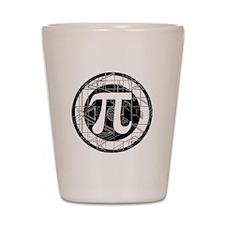 Pi Day Symbol Shot Glass