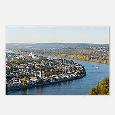 Cute Rhine river Postcards (Package of 8)