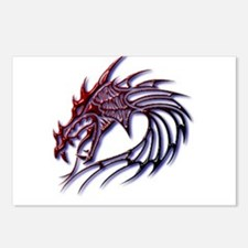 Dragons Head Postcards (Package of 8)