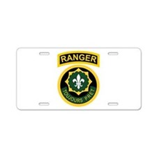 2nd ACR Ranger Aluminum License Plate
