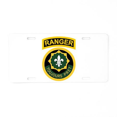 2nd ACR Ranger Aluminum License Plate