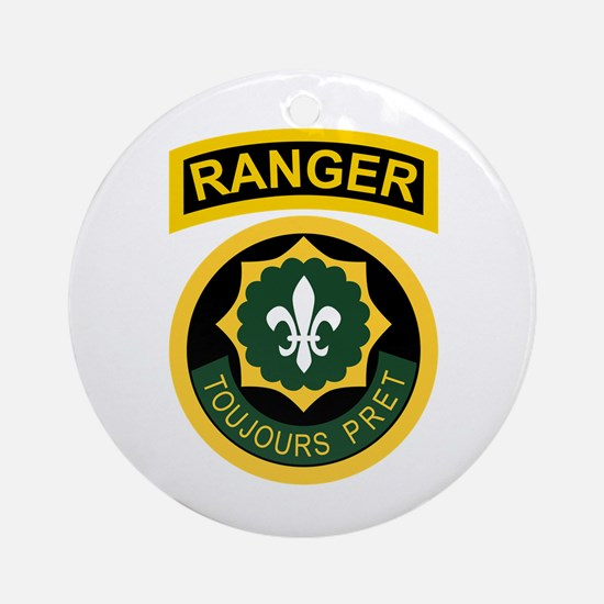 2nd ACR Ranger Ornament (Round)
