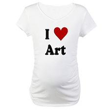 I Love Art Shirt