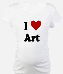 I Love Art Shirt