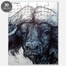 Wildlife! Water Buffalo, Art! Puzzle