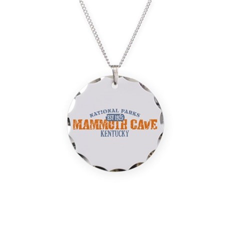 Mammoth Cave National Park KY Necklace Circle Char