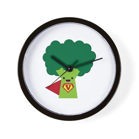 Super Broccoli Wall Clock