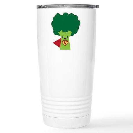 Super Broccoli Stainless Steel Travel Mug