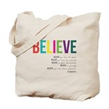Inspirational Regular Canvas Tote Bag