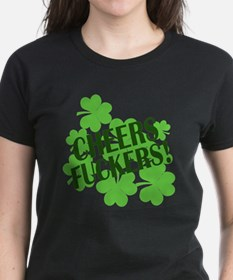 Cheers Fuckers Funny St Pats Tee