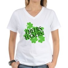 Cheers Fuckers Funny St Pats Shirt