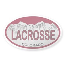 Lacrosse Colo Plate Decal
