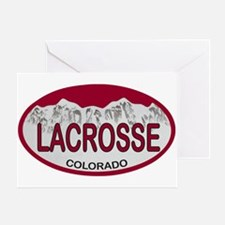 Lacrosse Colo Plate Greeting Card