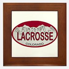 Lacrosse Colo Plate Framed Tile