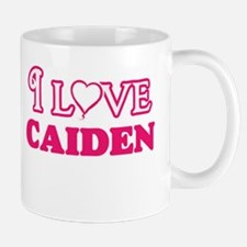 I Love Caiden Mugs