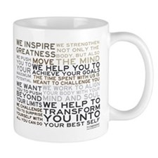 Trainer's Manifesto Small Mugs