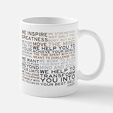 Trainer's Manifesto Small Mugs