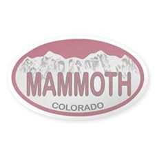 Mammoth Colo Plate Decal
