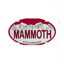 Mammoth Colo Plate Aluminum License Plate