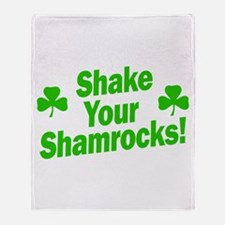 Shake Your Shamrocks Throw Blanket