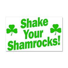 Shake Your Shamrocks Car Magnet 20 x 12