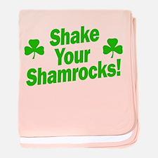 Shake Your Shamrocks baby blanket