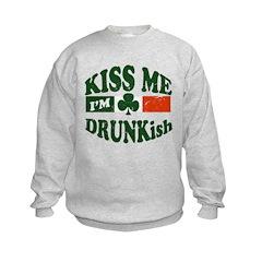 Kiss Me I'm Drunkish Sweatshirt