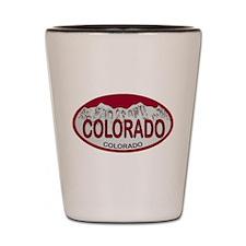 COLORADO Colo Plate Shot Glass