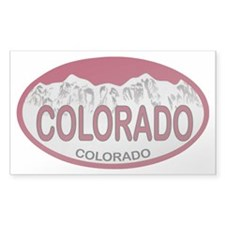 COLORADO Colo Plate Decal