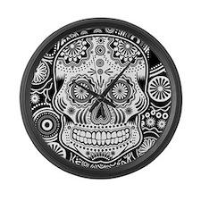 Skull Large Wall Clock