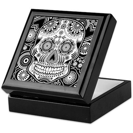 Skull Keepsake Box
