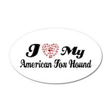 I love my American Fox Hound 38.5 x 24.5 Oval Wall