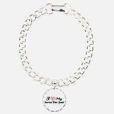 I love my American Water Spaniel Bracelet