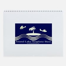 Island Lake Seaplane Base SeaRey Wall Calendar