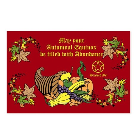 Autumnal Equinox Postcards (Package of 8)