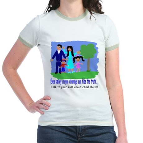 Abuse Awareness Jr. Ringer T-Shirt