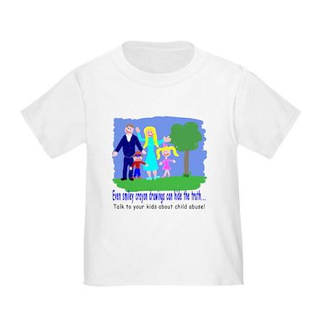 Abuse Awareness Toddler T-Shirt