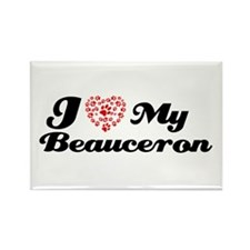 I love my Beauceron Rectangle Magnet (10 pack)
