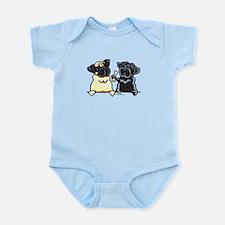 Bone to Pug Infant Bodysuit