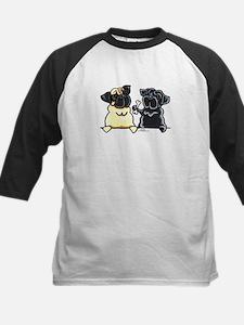 Bone to Pug Kids Baseball Jersey