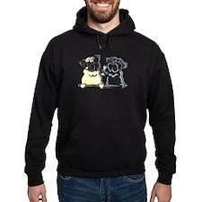 Bone to Pug Hoodie