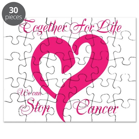 Pink Together For Life Puzzle