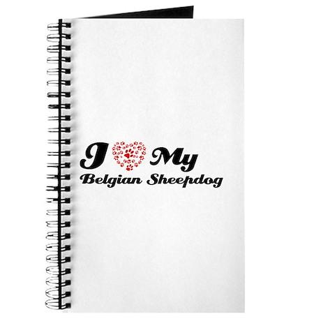 I love my Belgian Sheepdog Journal