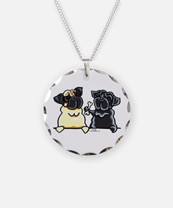 Bone to Pug Necklace