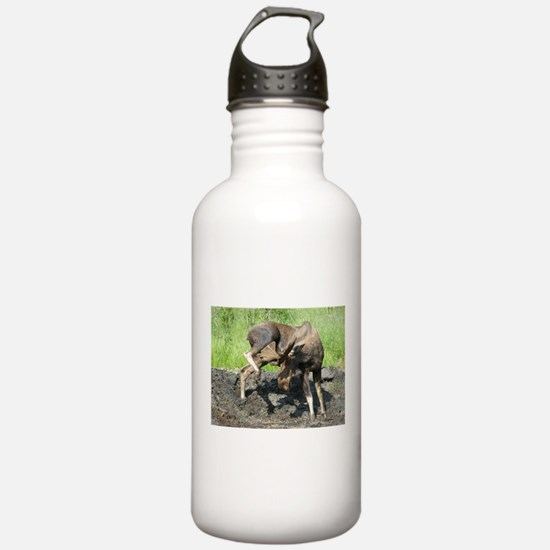 """""""When It Itches"""" Bull Moose Water Bottle"""