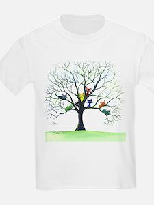 tree stray cats eau claire bigger T-Shirt