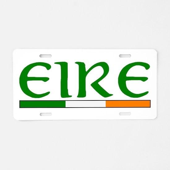 EIRE Aluminum License Plate