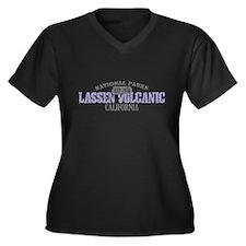 Lassen Volcanic National Park Women's Plus Size V-