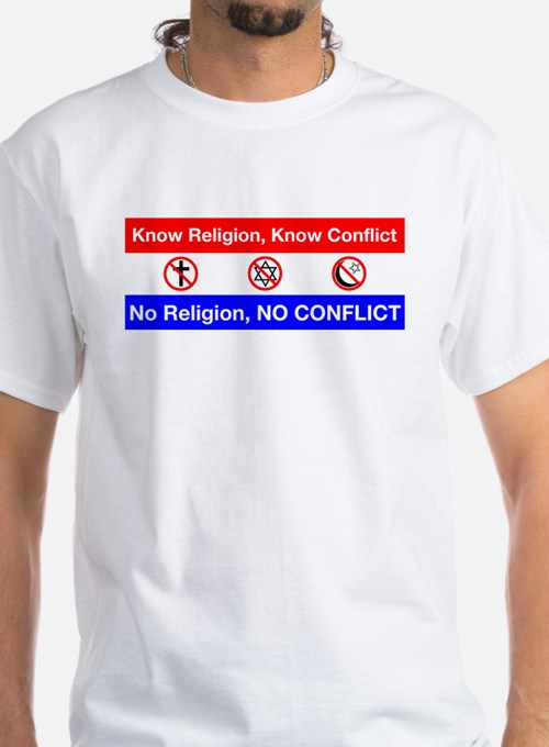 No Religion, No Conflic T-Shirt